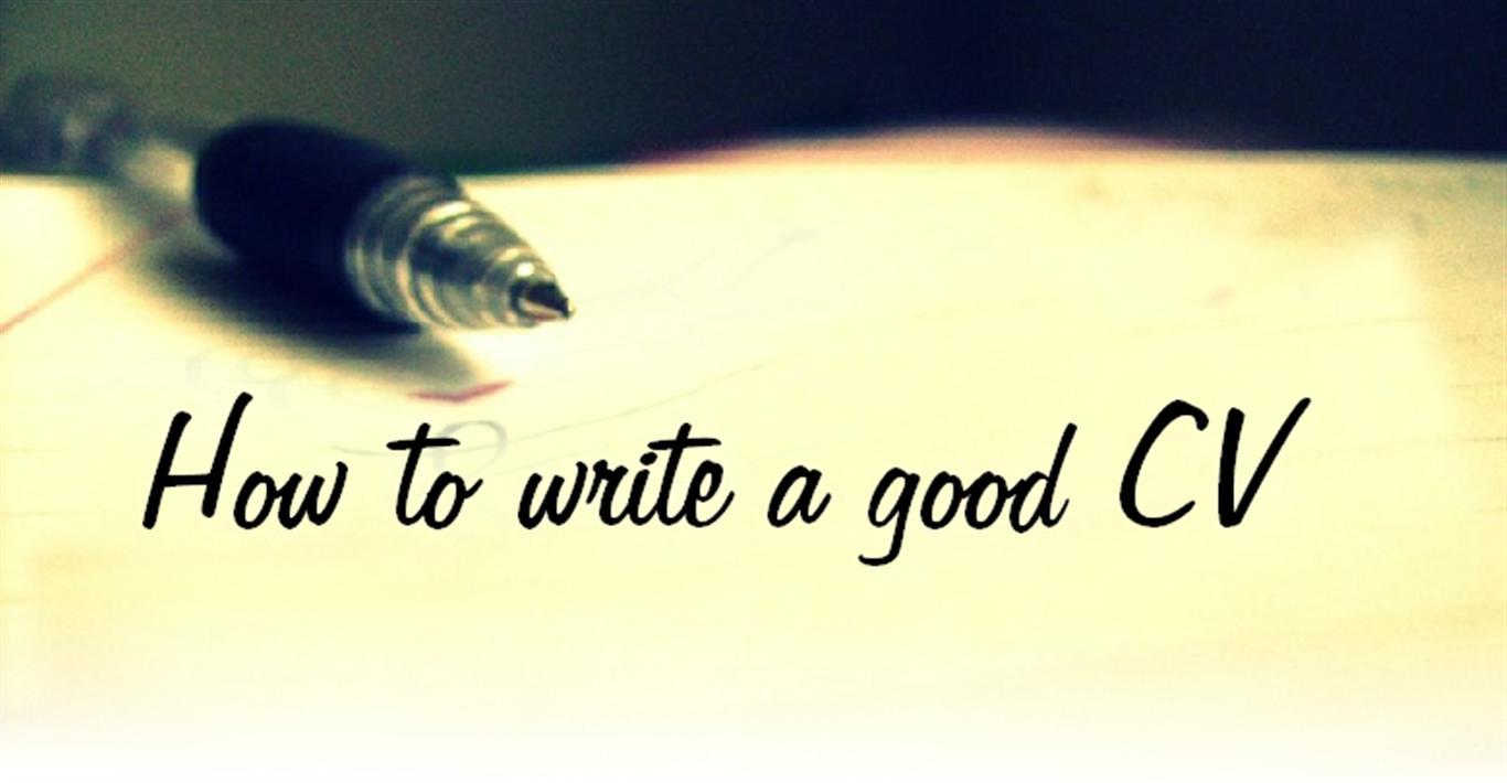 write me a cv